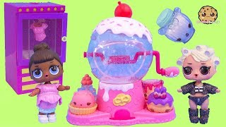 Glitterizer Fashion Style Machine Playset ! Glitter Num Noms + LOL Surprise
