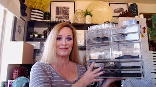 Sorbus Beauty Acrylic Makeup Drawer Storage Review | How Did I Organize It All? | Makeup Collection