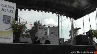 preview picture of video 'Dożynki - Gmina Kluki - Pokaz Klubu Aikido Aikikai'