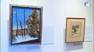 В Музее изобразительных искусств работает выставка Владимира Конецкого «Север в фарватере»