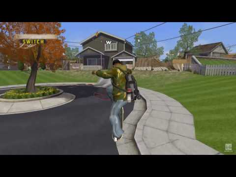 Tony Hawk's Project 8 PSP Gameplay HD