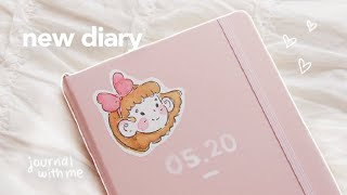 starting my new diary 💭journal with me