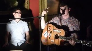 Jordan Allen  (Acoustic) - Dancing In The Dark - Live @ Blackburn Museum - 3-12-2015