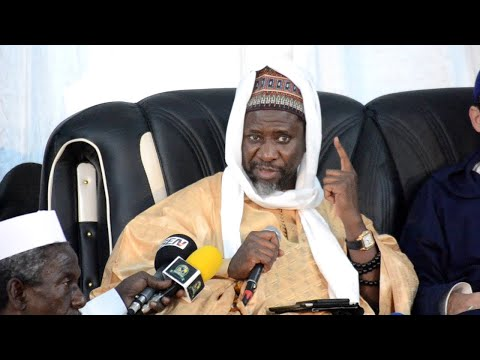 Conférence de Cheikh Mahi Cissé lors du journée culturelle Cheikh Ibrahim Niass 2019 au T. Acapes