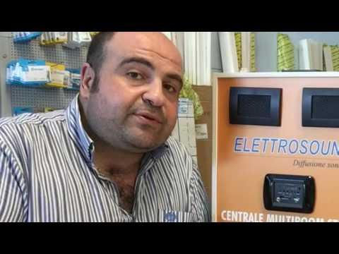 Centrale Multiroom elettrosound Pillola N. 51 di materiale elettrico