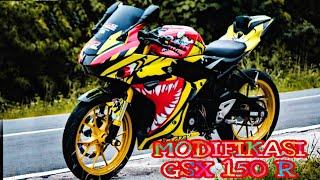 Modifikasi Suzuki Gsx R150 Warna Merah म फ त ऑनल इन