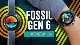 Fossil Gen 6 Review: High Speeds, Hard Specs, Soft Wear
