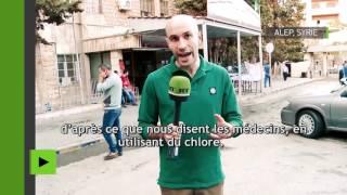 NATURAL GAS RT rencontre les habitants d'Alep victimes des gaz toxiques qu'auraient utilisé les rebelles