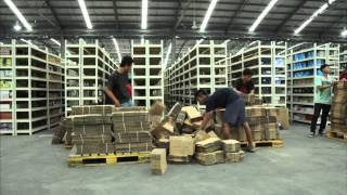 Pusat Distribusi Lazada Indonesia