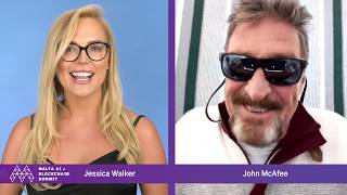 """""""2 MILLION BY 2020???"""" BITCOIN MATH WITH MCAFEE!"""