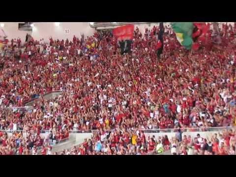 """""""Vamos Flamengo! - Flamengo 1 x 0 Corinthians - Brasileirão 2013 - 36 rodada"""" Barra: Nação 12 • Club: Flamengo"""