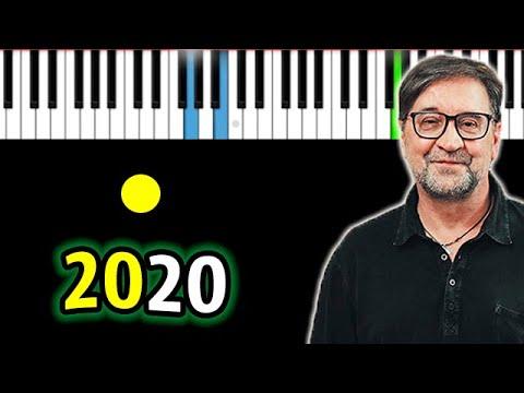 ДДТ - 2020 | Piano_Tutorial | Разбор | КАРАОКЕ | НОТЫ + MIDI