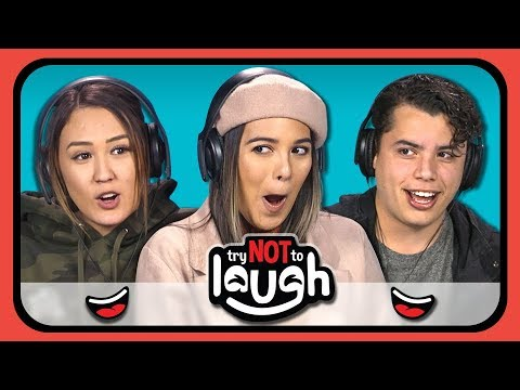 YouTubers React to Try to Watch This Without Laughing or Grinning #14