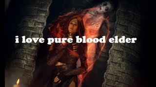 I Love Pure Blood Elder   Elder Scrolls Legends