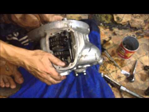 К 750 не работает кик стартер ремонт каробки