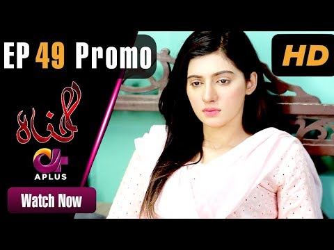 Pakistani Drama   Gunnah - Episode 49 Promo   Aplus Dramas   Sara Elahi, Shamoon Abbasi, Asad Malik