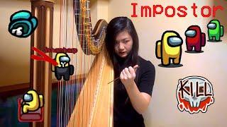Among Us Sounds on Harp