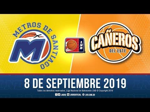 LNB: Metros de Santiago vs Cañeros del Este 8-9-2019