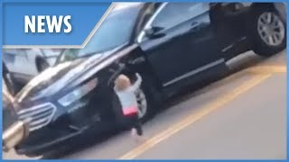 Police release new video of toddler supposedly