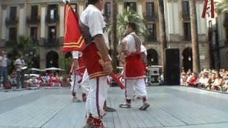 preview picture of video 'El plegafems - danses del ball de bastons de Sant Pere de Ribes'