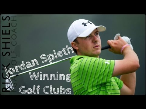 Jordan Spieth's Winning Golf Clubs
