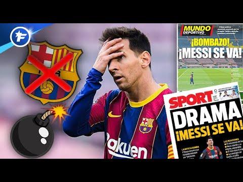 La bombe Messi met le feu à la presse européenne   Revue de presse