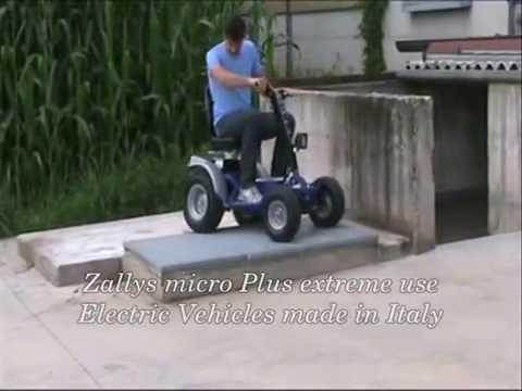 mobility scooter veicoli elettrici Zallys Micro plus uso estremo 01