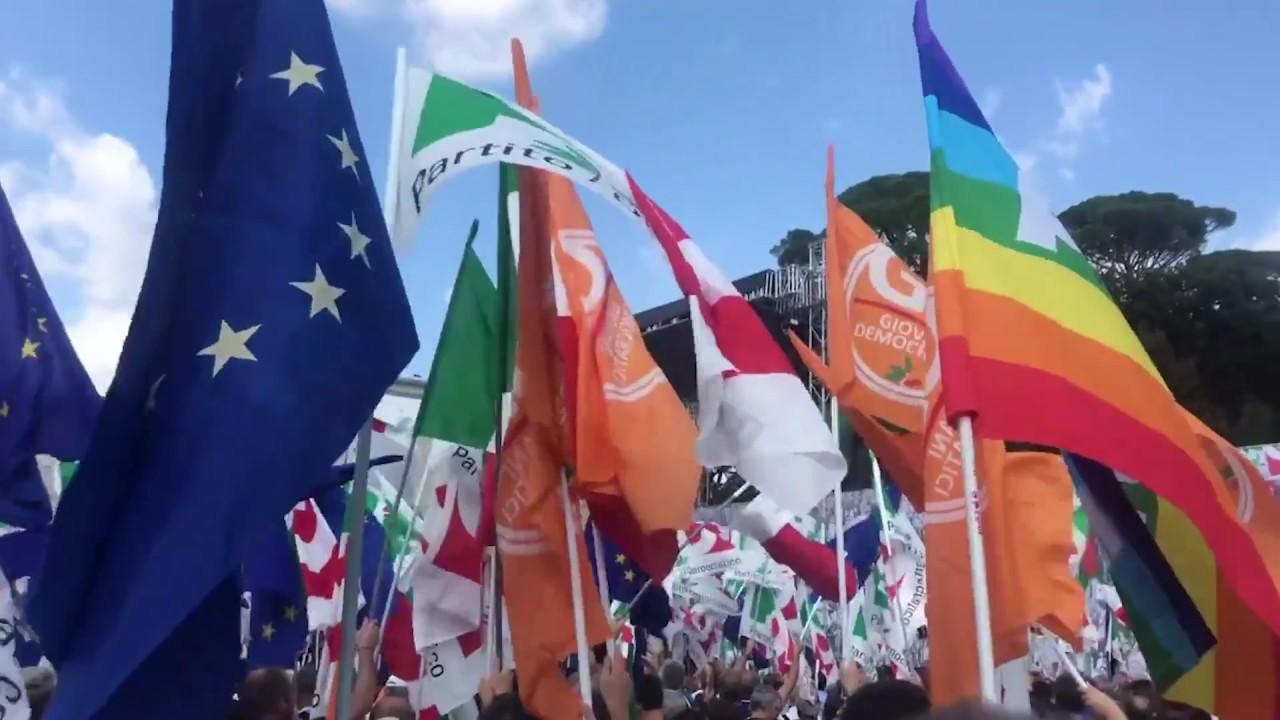 Il Partito Democratico torna in piazza