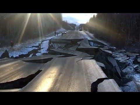 Powerful M7.0 Earthquake strikes Anchorage, Alaska (Nov 30, 2018)