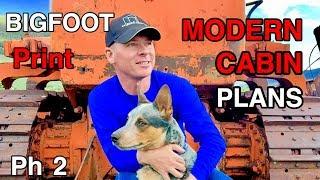 BigFoot Print Phase 2- Modern Cabin Plans