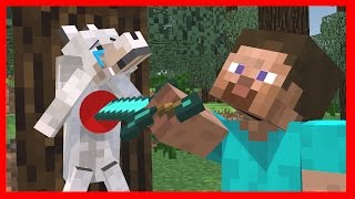 Wolf Life -  Minecraft Top 5 Life Animations