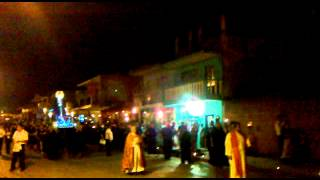 preview picture of video 'Procesión del silencio Coatepec, Ver. 2012'