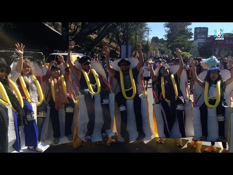 Miles de guatemaltecos corrieron la Carrera San Silvestre
