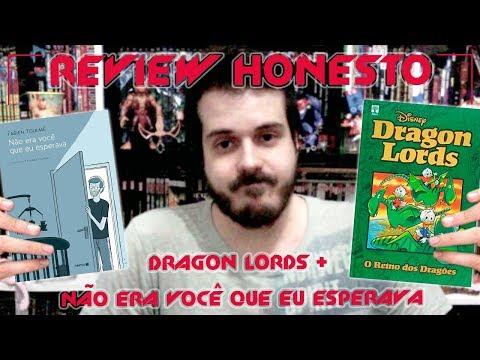 Review Honesto - Dragon Lords | Abril + Não Era Você que Eu Esperava | Nemo