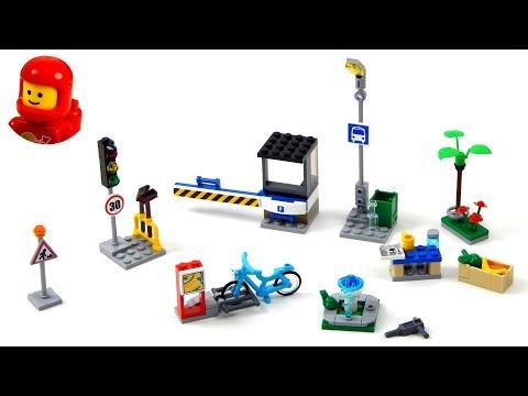 Vidéo LEGO City 40170 : Ensemble d'accessoires Construis ma ville LEGO City