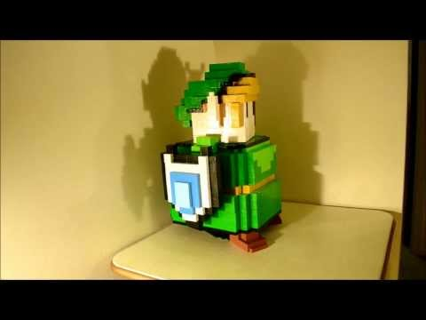 Watch This Amazing 16-Bit Legend Of Zelda PC Case Come To Life Block-By-Block