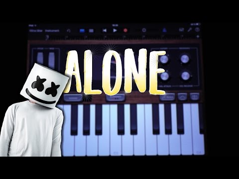 Marshmello – Alone (GARAGEBAND TUTORIAL)