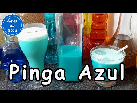 Pinga Azul - 2 Drinks