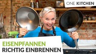 Eisenpfanne einbrennen – so geht es richtig | by One Kitchen