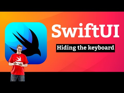 Hiding the keyboard – WeSplit SwiftUI Tutorial  11/11 thumbnail