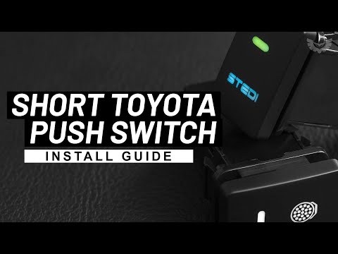 STEDI Push Switch - Landcruiser 80 Series