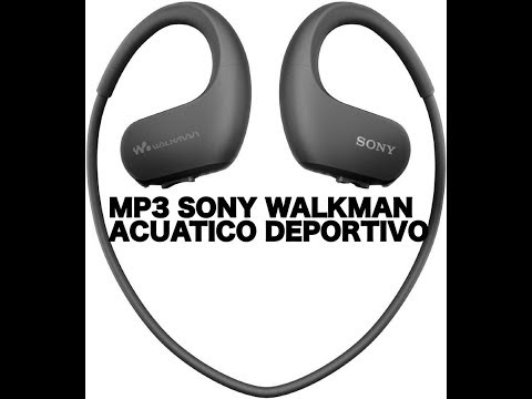 MP3 SONY WALKMAN ACUATICO DEPORTIVO