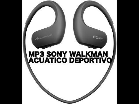 MP3 SONY WALKMAN ACUATICO DEPORTIVO