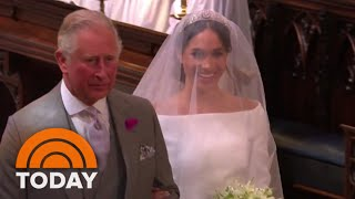 Royal Wedding: See Meghan Markle Walk Down The Aisle | TODAY | Kholo.pk