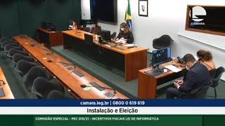Reunião de Instalação e Eleição - 08/10/2021 11:00