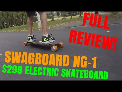 Swagboard NG-1 Electric Skateboard – Full Review! – tylerf