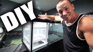 HOW TO: Build a simple aquarium sump | The King of DIY