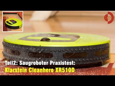 Teil2 Klarstein Cleanhero Saugroboter XR510Dl Test