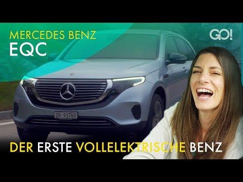 Mercedes EQC - Cyndie unterwegs mit dem ersten reinen E-Auto von Mercedes