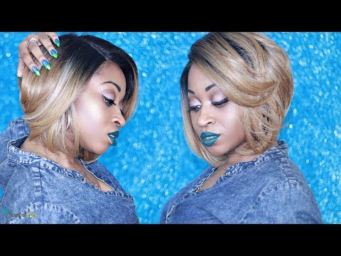 Best First Wig- ZURY LACE H LUCY WIG ☆ Easiest Wig Tutorial EVER!! | SamoreLoveTV